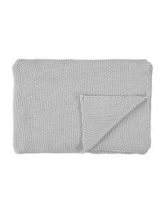 Marc O'Polo Nordic knit Silver Plaid 130 x 170
