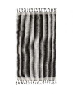 Marc O'Polo Nurmes Black Beach towel 100 x 180