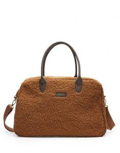ESSENZA Pebbles Teddy Leather Brown Weekender bag One Size