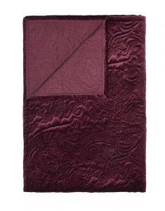 ESSENZA Roeby Burgundy Tagesdecke 220 x 265 cm