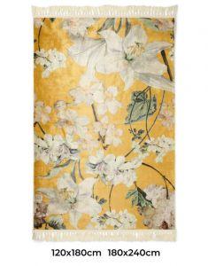 ESSENZA Rosalee Senfgelb Teppich 60 x 90 cm
