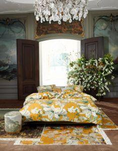 Essenza Rosalee Mustard Duvet cover 140 x 220