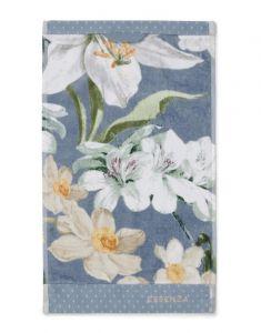 ESSENZA Rosalee Blau Gästetuch 30 x 50 cm