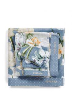 ESSENZA Rosalee Blau Handtuch 70 x 140 cm