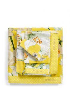 Essenza Rosalee Yellow Towel 55 x 100