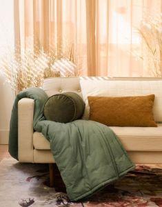 Essenza Ruth Laurel Green Plaid 150 x 200 cm