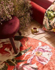 Essenza Scarlett Roseval Carpet small 90