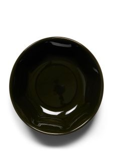 Essenza Sculpture Dark Green Tiny bowl 9