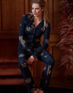 ESSENZA Senna Lauren Indigo Blue Pyjama XS