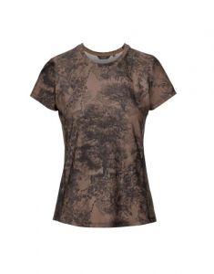 ESSENZA Shanice Aurelie Cafe Noir Top Short Sleeve M