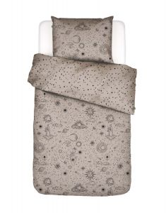Covers & Co That's the spirit Taupe Duvet cover
