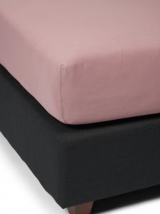 ESSENZA The Perfect Organic Jersey Woodrose Fitted sheet 90-100 x 200-220