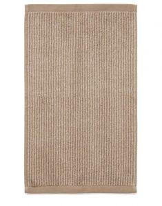 Marc O'Polo Timeless Tone Stripe Beige / Clay Gästetuch 30 x 50 cm