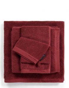Marc O'Polo Timeless Uni Warm Red Gästetuch 30 x 50 cm
