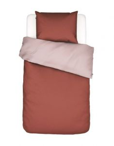 Covers & Co Two in one Rust Duvet cover 155 x 220
