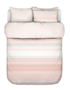Marc O'Polo Vaja Coral pink Duvet cover 240 x 220