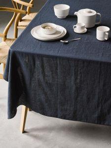 Marc O'Polo Valka Indigo blue Table cloth 150 x 350