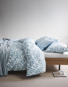 Marc O'Polo Vau Soft Blue Bettwäsche 135 x 200 cm