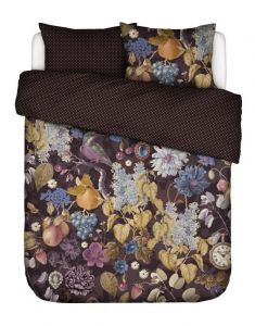 Essenza Veronique Aubergine Duvet cover 240 x 220