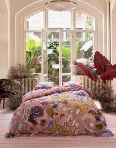 Essenza Veronique Woodrose Duvet cover 240 x 220