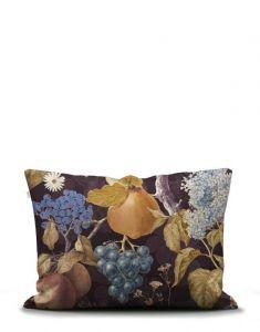 ESSENZA Veronique Aubergine Pillowcase 60 x 70