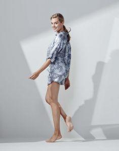 Essenza Xava Aurelie Iceblue Trousers short M