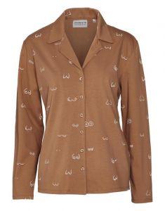 Covers & Co Zahra Booby trap Hazel Pyjama top long sleeve S