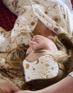 Covers & Co Zahra Luna tic Ecru Pyjama top long sleeve M