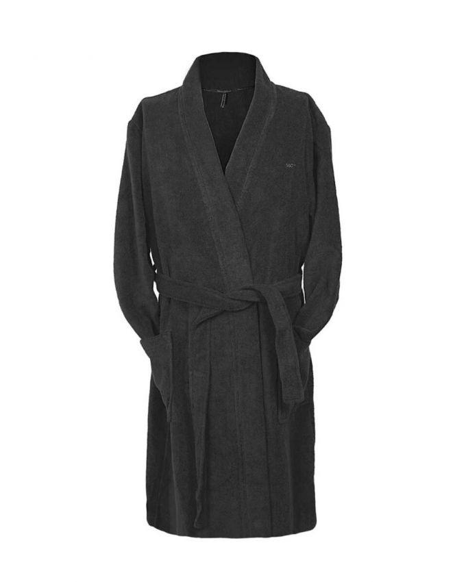 Marc O'Polo Classic bathrobe Anthracite Bathrobe XS