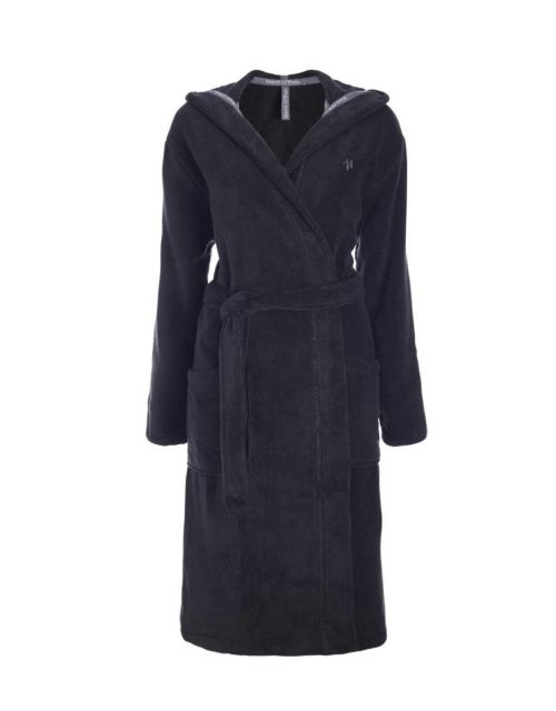 Marc O'Polo Classic (with hood) Anthracite Bathrobe S