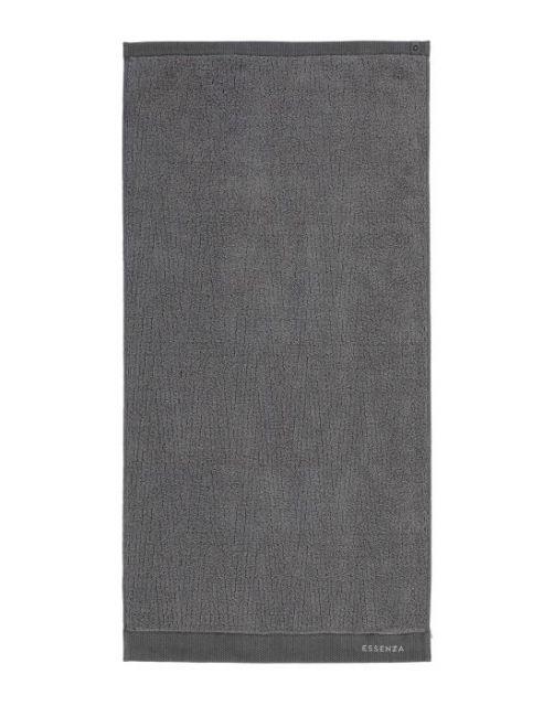 ESSENZA Connect Organic Lines Grau Handtuch 50 x 100 cm