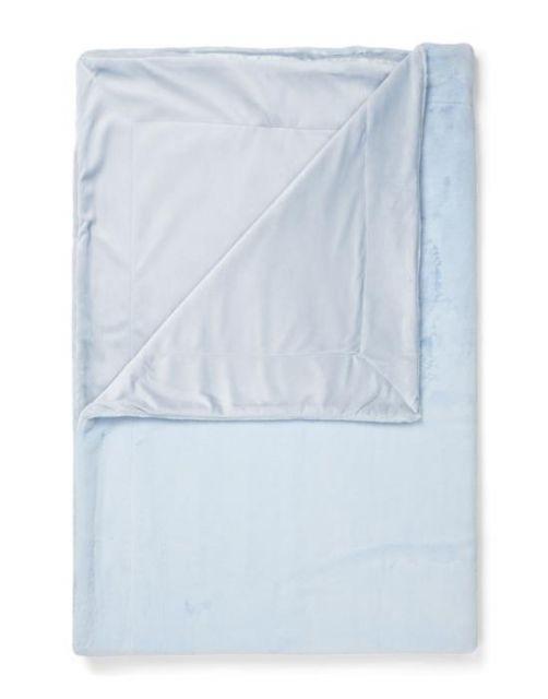 ESSENZA Furry Iceblue Plaid 150 x 200 cm