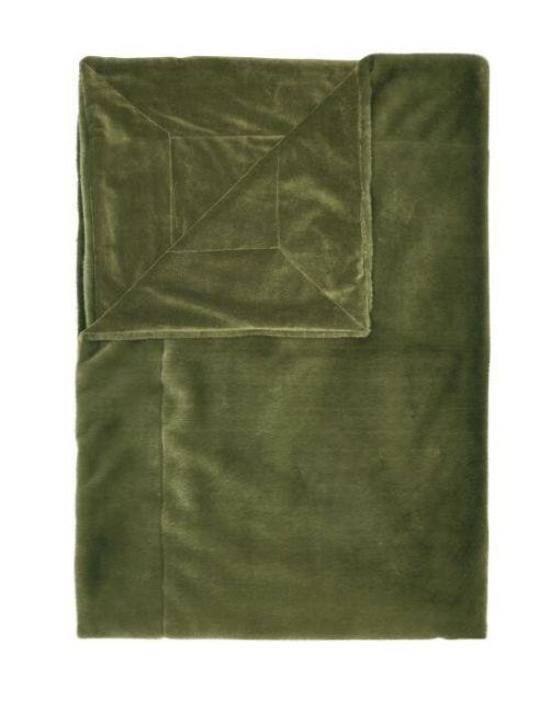 ESSENZA Furry Moss Plaid 150 x 200 cm