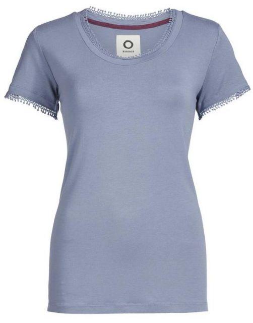 ESSENZA Luyza Uni Faded Blue Top Kurzarm XS