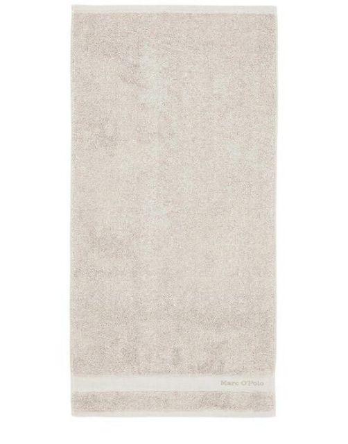 Marc O'Polo Melange Beige / Weiß Handtuch 50 x 100 cm