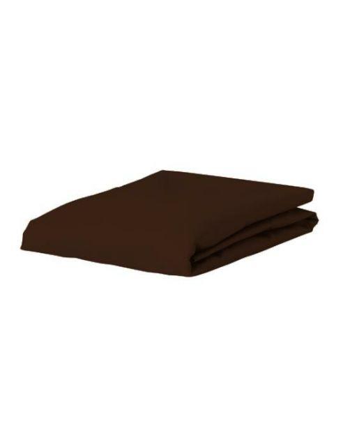 ESSENZA Premium Jersey Chocolate Spannbettlaken 90-100 x 200-220 cm