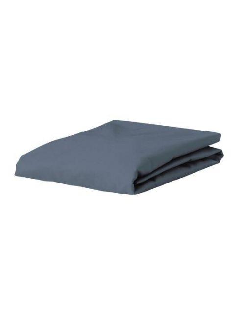 ESSENZA Premium Jersey Stone Blue Spannbettlaken 90-100 x 200-220 cm