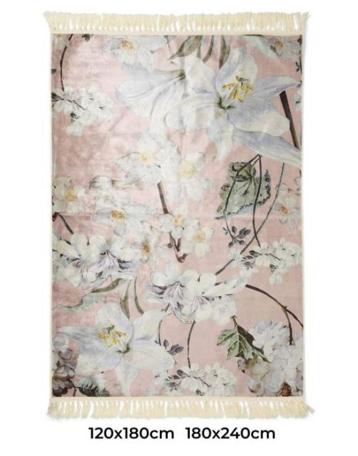 ESSENZA Rosalee Dark Blush Teppich 120 x 180 cm