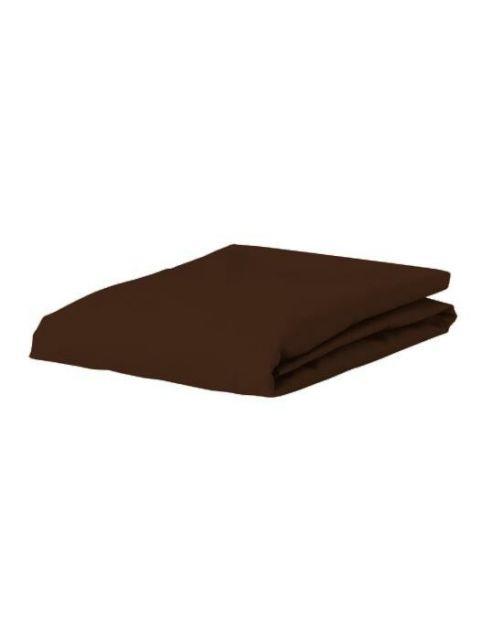 ESSENZA Satin Chocolate Spannbettlaken 160 x 200 cm