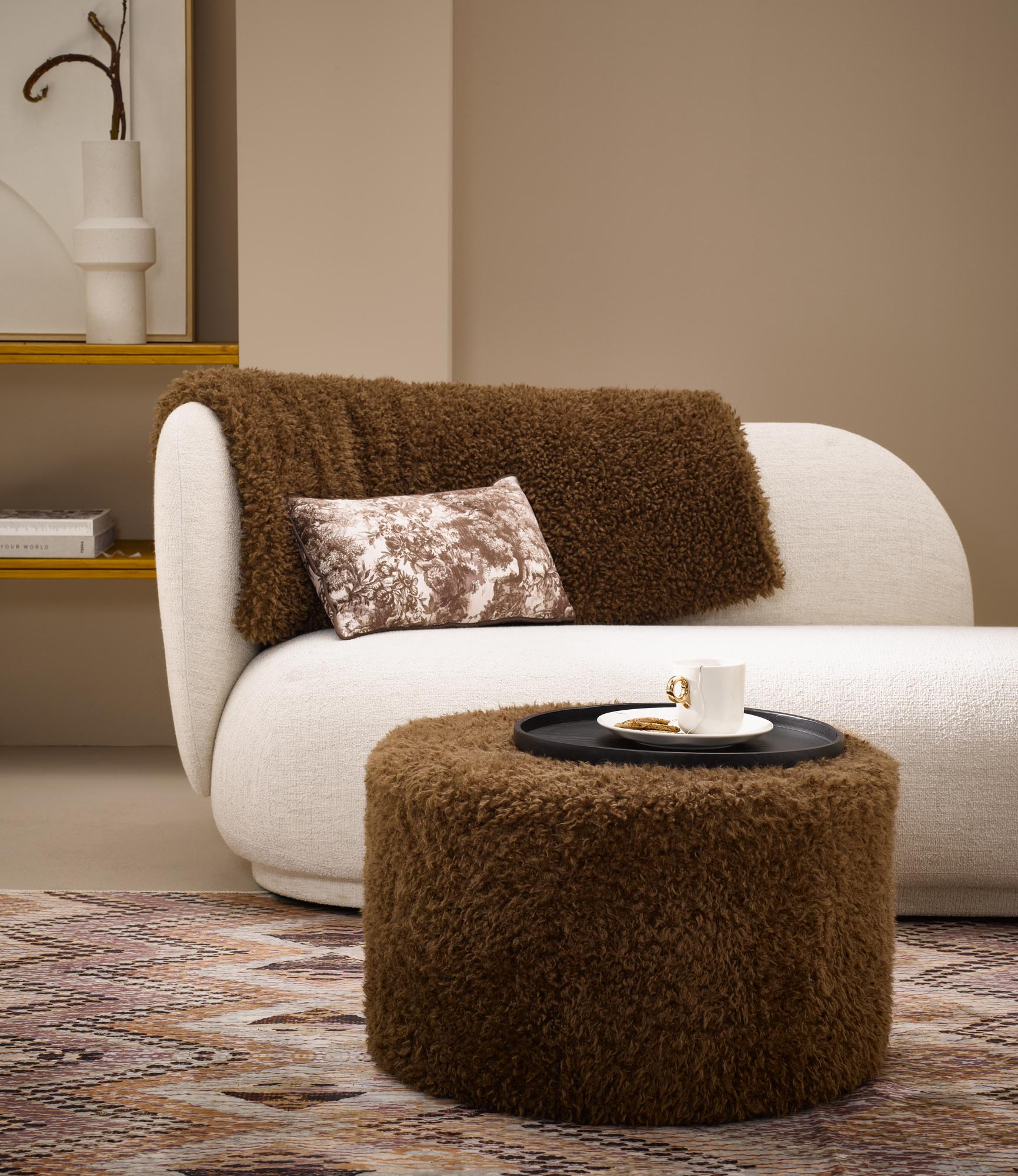 Brown living accessories