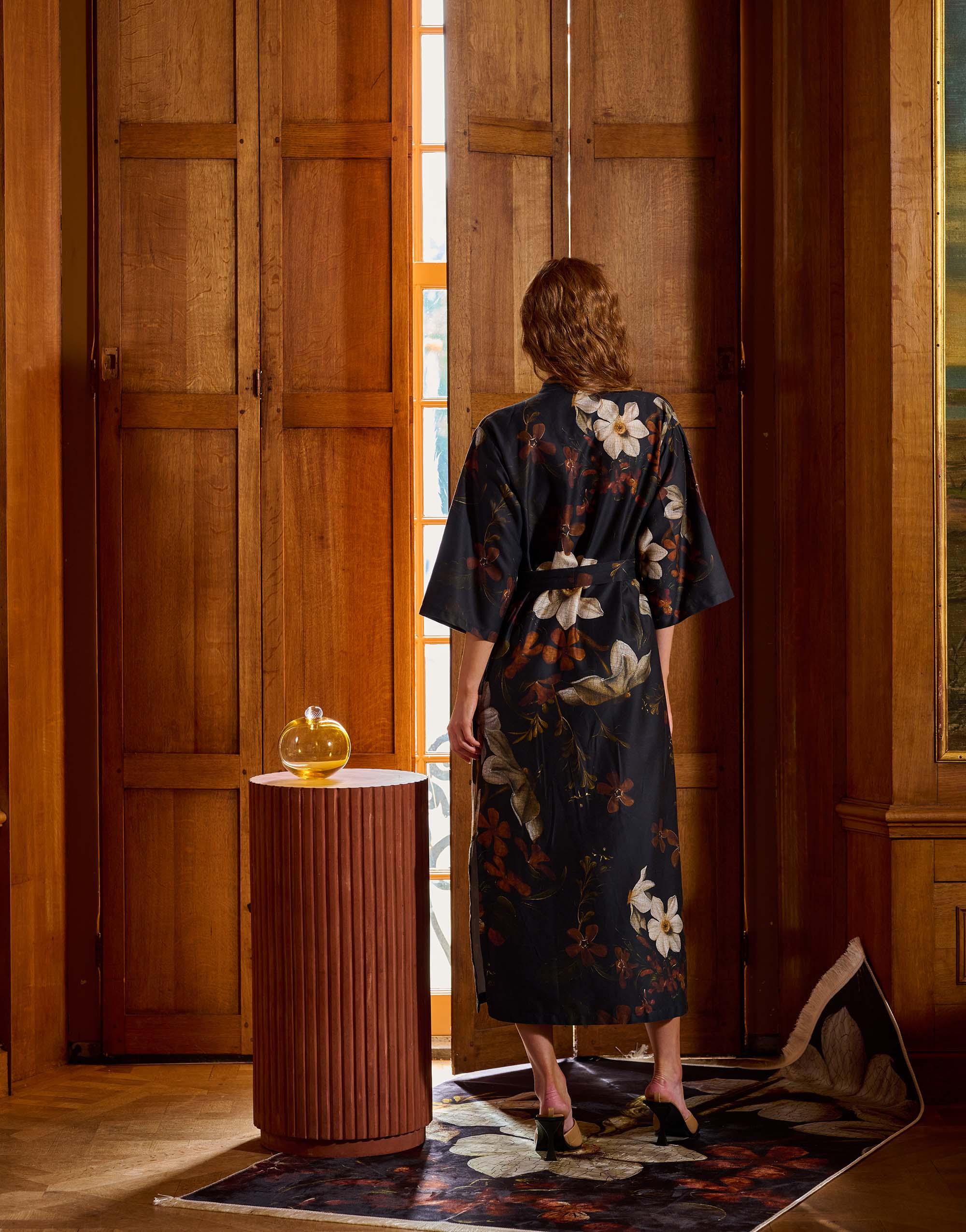 Elegant kimonos