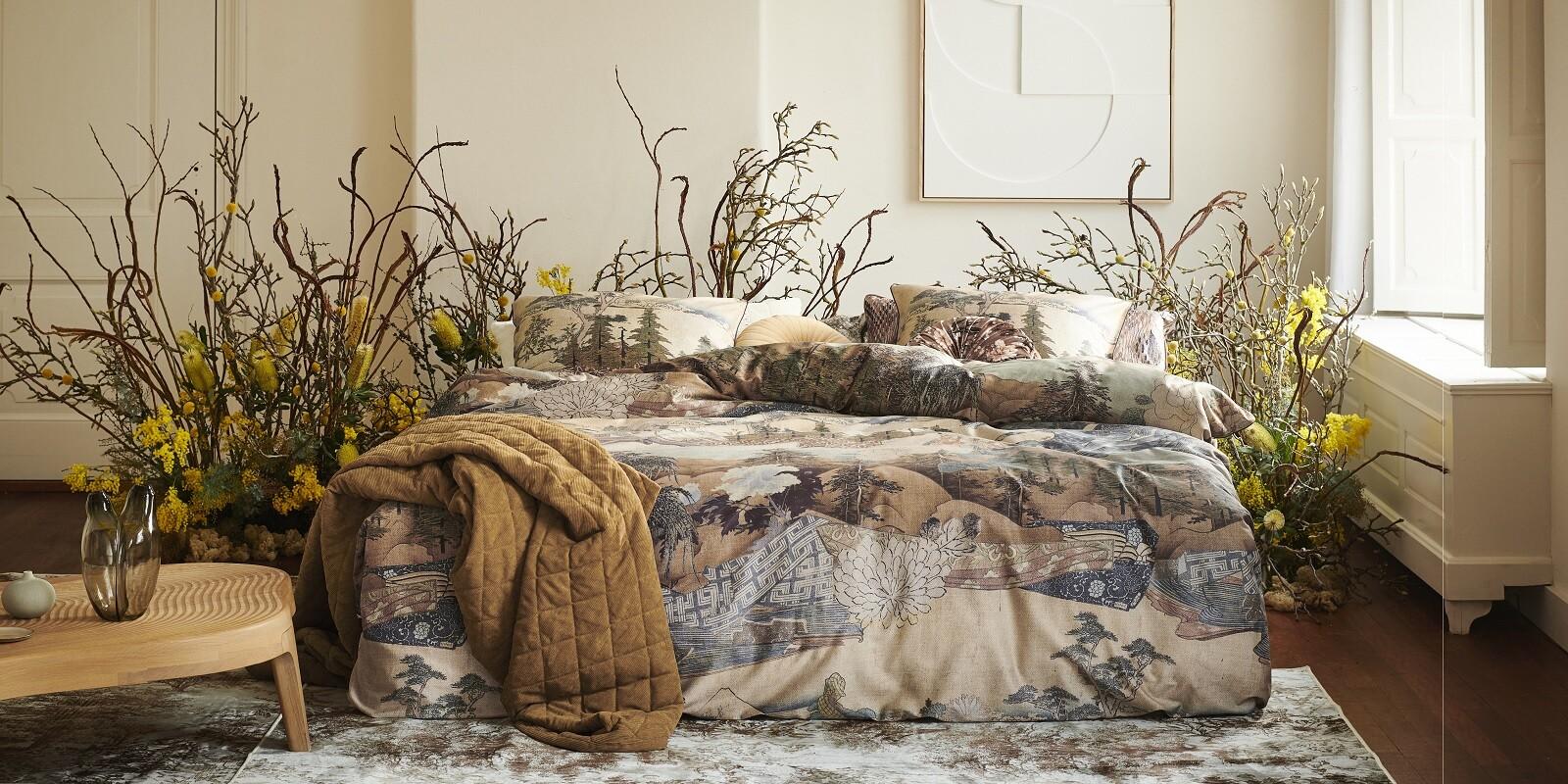ESSENZA Carice Multi Duvet cover 135 x 200